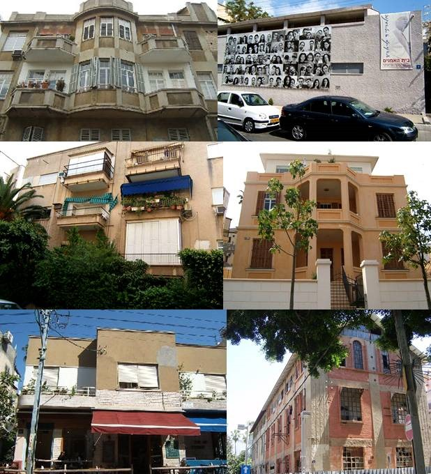 כל כך הרבה מה לספר על כל בניין...
